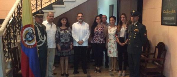 Consulado de Colombia en La Habana dio apertura oficial a elecciones en el exterior para Congreso de la República