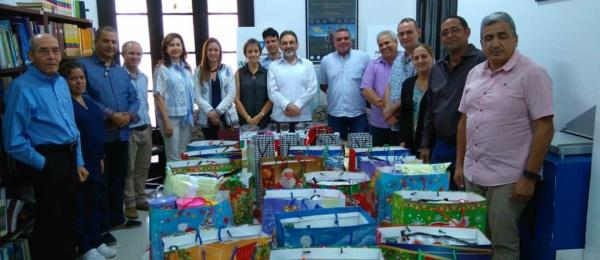 El Consulado de Colombia en La Habana celebraron la Navidad